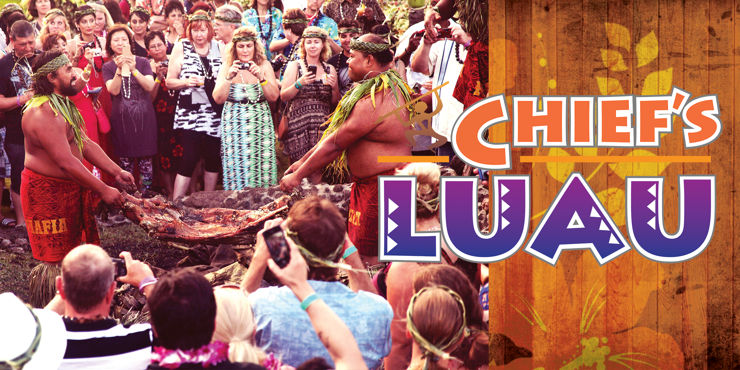 Chief's Luau Buffet Menu